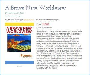 A Brave New Worldview by Hank Edson