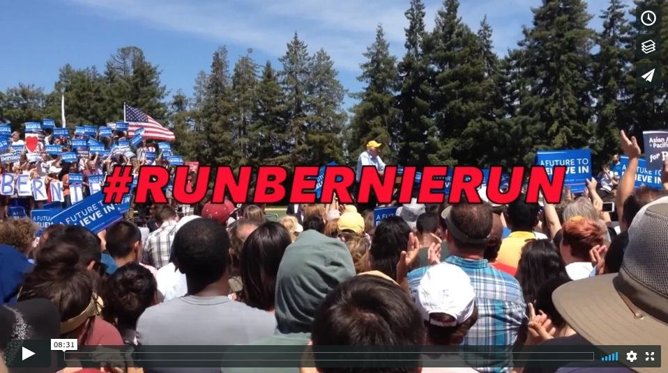 #RunBernieRun